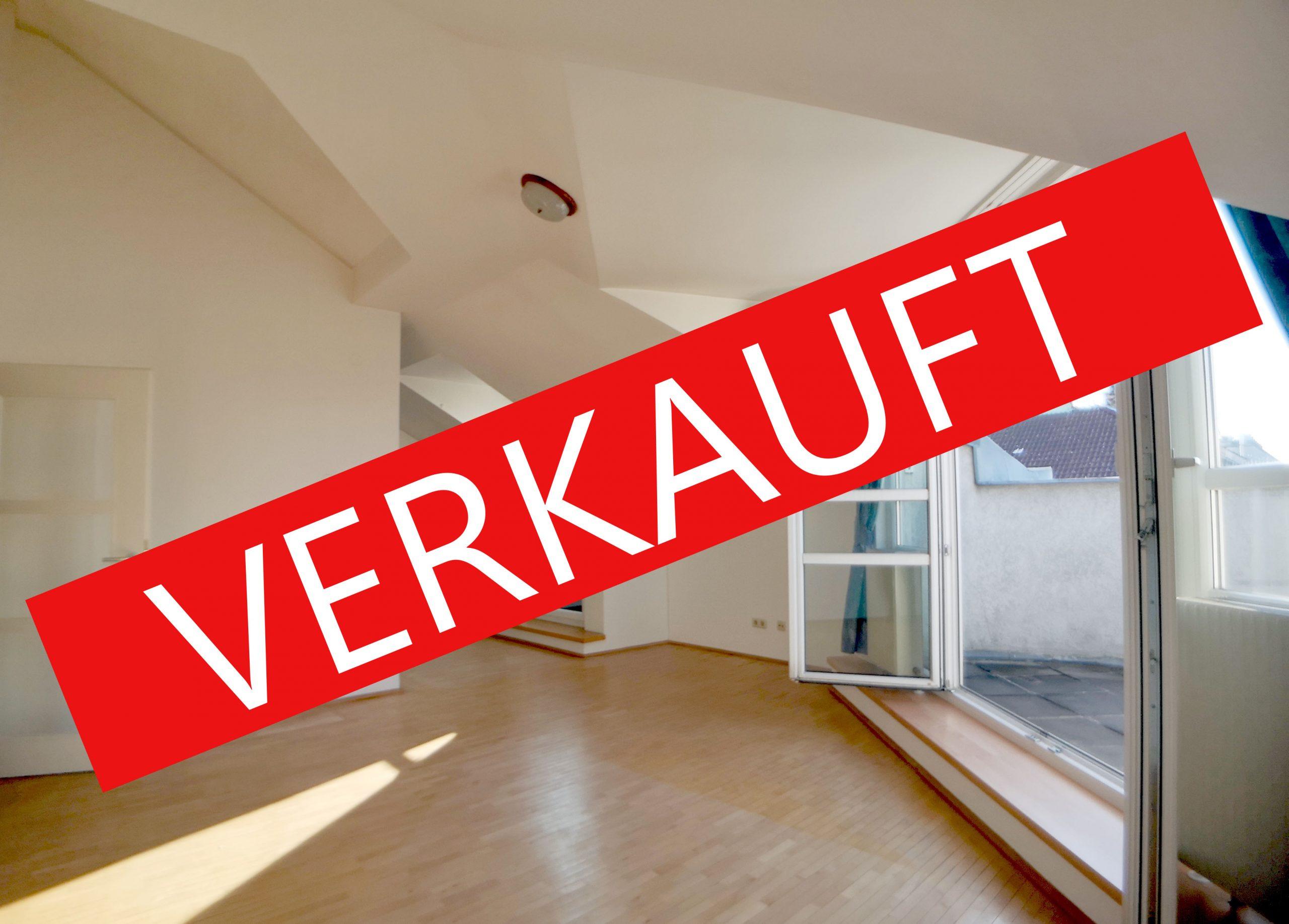 RESERVIERT: 1030 Wien: Idyllische 3 Zimmer-Dachwohnung mit Terrasse und Weitblick